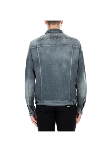 Emporio Armani Jean Ceket Siyah